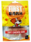 First Bark Yummylicious Treats Soft Chicken Ring