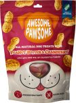 Awesome Pawsome All Natural Dog Treats - Peanut Butter & Cranberry