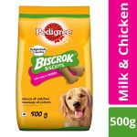 Pedigree Biscrok Biscuits With Milk & Chicken
