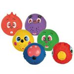 Trixie Animal Faces Toy Balls Latex Dog Toy