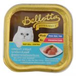 Bellotta Chat Gourmet Tuna Light Meat In Jelly Hair Ball Control - (Cup) Pack Of 28