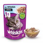 Whiskas With White Fish in Gravy Pouch