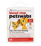 PetKin Blood Stop Pet Swabs - 24 Swabs