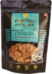 Pawfect Kitchen Homemade Gluten Free Cookies With Chicken & Berry Treats