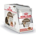 Royal Canin Gravy Salsa Sas Ageing 12+ Years (Pouch) Pack Of 12