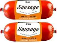 Drools Sausage For Dogs Real Liver