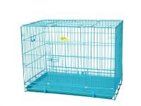 Smarty Pet Wire Cage - Blue (30 Inch)