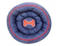 Kennel Denim Donut Bed
