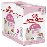 Royal Canin Kitten Loaf Mousse Pate (Pouch) Pack Of 12