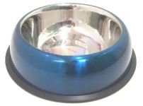 Bow-Wow Steel Non Skid Belly Bowl Large