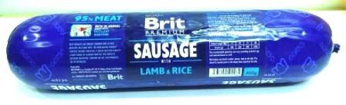 Brit Sausage With Lamb & Rice Pack of 3