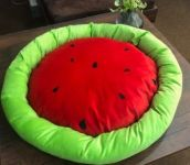 Canes Venatici Fruit Round Shape Bed