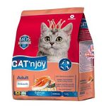 Cat'njoy Salmon Flavour All Breed Adult Cat Dry Food