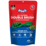 Drools Double Brush Dental Treat Mint Flavour Breath Strips For Small & Medium Breed Dogs
