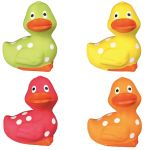 Trixie Various Colours Duck Latex  Dog Toy