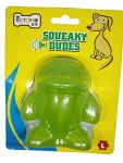 EE Squeaky Dudes Dog Toy Large