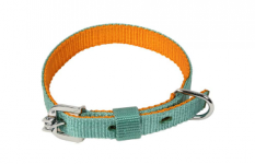 Kennel Soft Nylon Two Color Collar ( W = 3/4