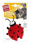 Gigwi Melody Chaser Beetle W/Motion Activated Sound Chip (Bee Sound) - Cat Toy