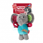 Gigwi Plush Friendz Squeaky Elephant - Dog Toy