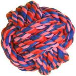 Smarty Pet Rope Toy Ball Small
