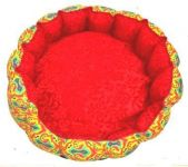 Kennel Multicolor Round Recorn Bed