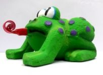 Super Frog Latex Squeeze Toy