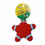 EE Natural Latex Star Shap Dog Toy