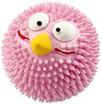 EBI Rubber Lucky Bird Pink Strawberry Flavour, Dog Toy