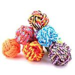 M-Pets Twist Rope Ball Dog Toy