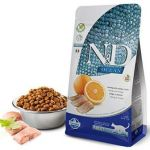 Farmina Natural & Delicious Ocean Herring & Orange Without Grain Adult Dry Cat Food