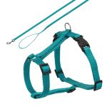 Trixie Premium Cat Harness With Leash - Ocean