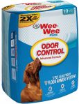 Four Paws Wee-Wee Odor Control Advance Formula Pads 10-Count 22
