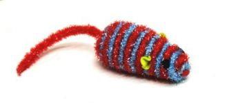 Perr Spiral Mouse Cat Toy