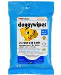 Petkin Instant Pet Bath Doggy Wipes