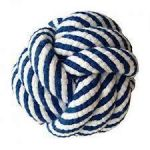 Petsport Twisted Chews Monster Knots Ball With Rope Toy