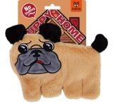 FOFOS Puppy Pug Home Plush Dog Toy