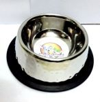 Kennel Premium Steel Feeding Bowl (Small)