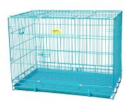 Smarty Pet Wire Cage - Blue (18 Inch)