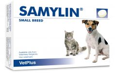 VetPlus Samylin For Small Breed Dogs & Cats - 30x0.35g Tablets