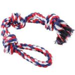 Smarty Pet Rope Toy 3 Knot & 2 String With Tug