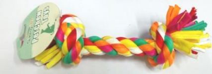 Speedy Pet Multi Color Rope Toy With 2 Knots