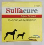Health Care Sulfacure Sulphur Ointment For Dogs