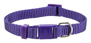 Trixie Premium Cat Collar With Bell - Purple