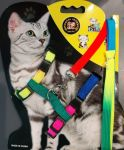 Petropolis Jabaz Pet Multicolour Harness For Cat